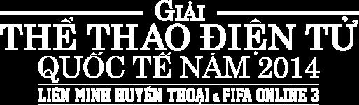 Giải Thể Thao Điện Tử Quốc Tế 2014